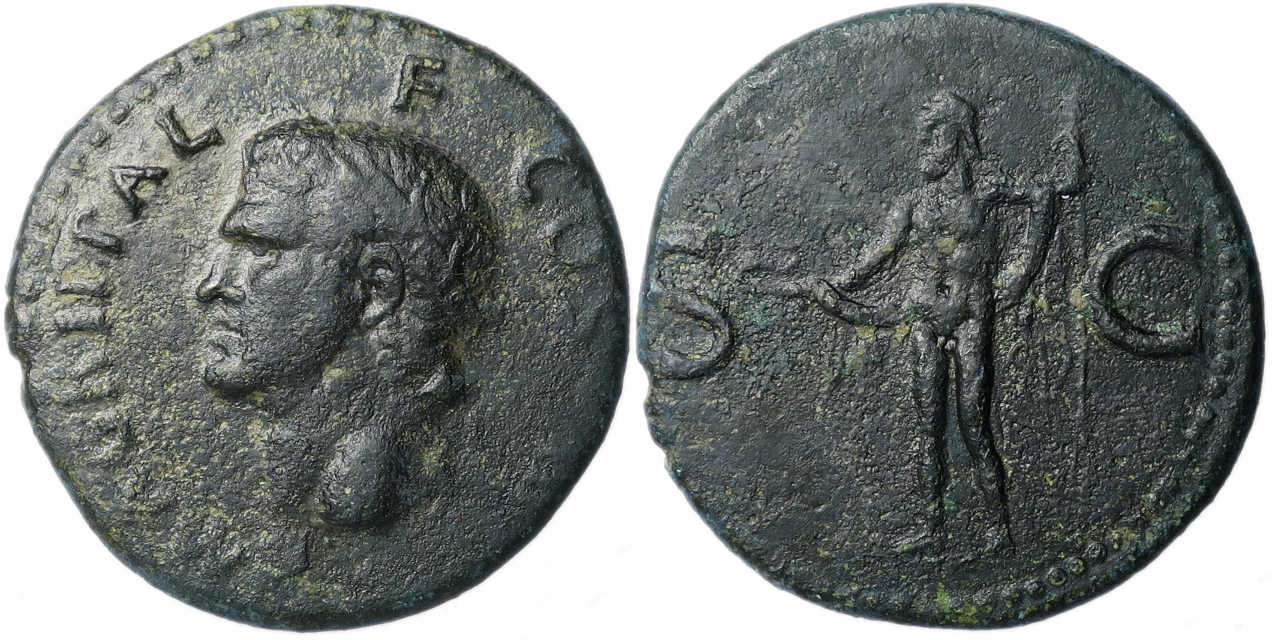 Agrippa, Ae As, 37-41 AD