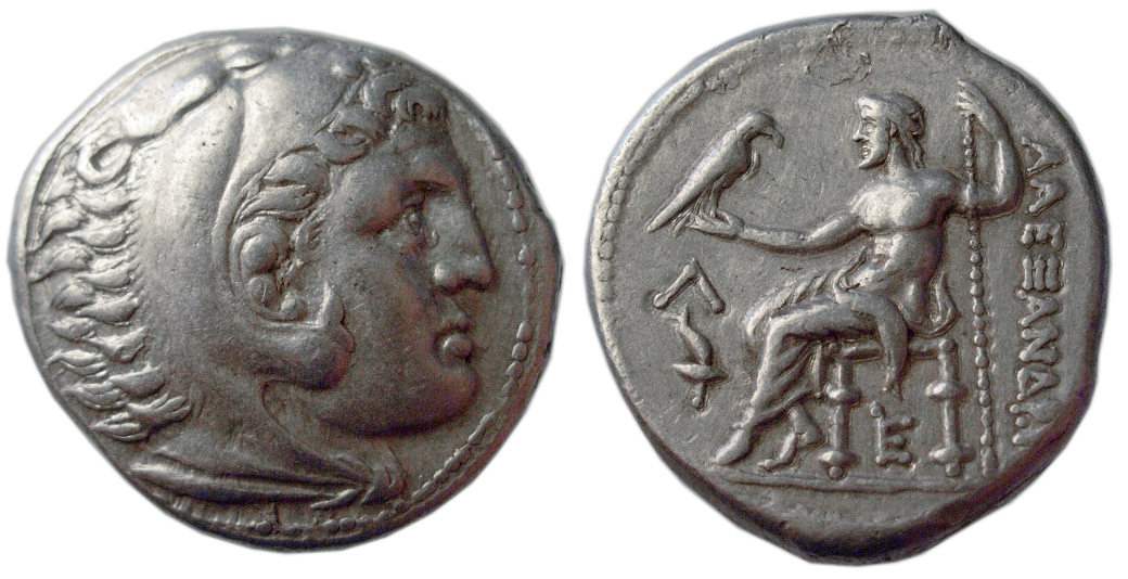 Alexander the Great, AR Tetradrachm, Amphipolis, 315-294 BC | Ancient Coin Traders