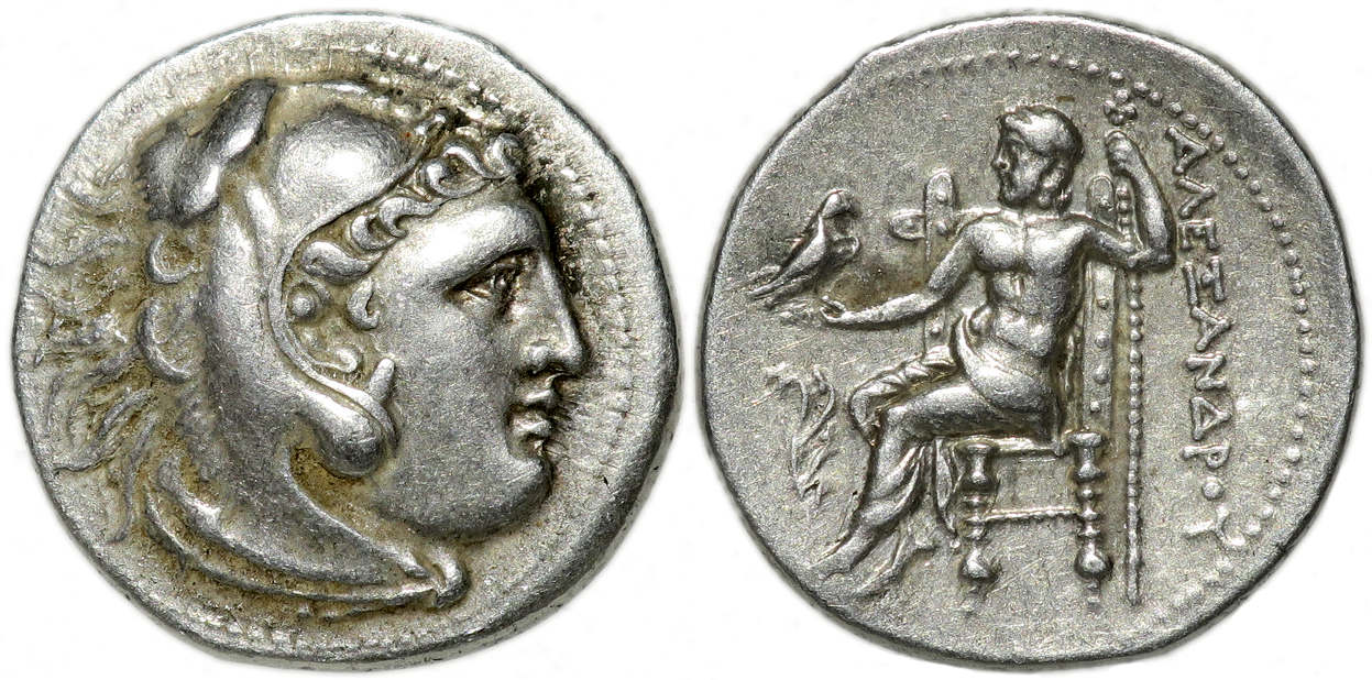 Alexander the Great, AR Drachm, 310-275 BC