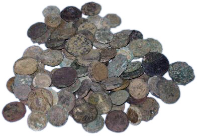᷅  <font color=&quot;#FF0000&quot;><b>SOLD</b></font color>: Uncleaned Greek Coins Lots of 20