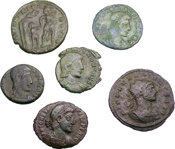 ᷅ <font color=&quot;#FF0000&quot;><b>SOLD</b></font color>: Ancient Roman Coins Lot 1