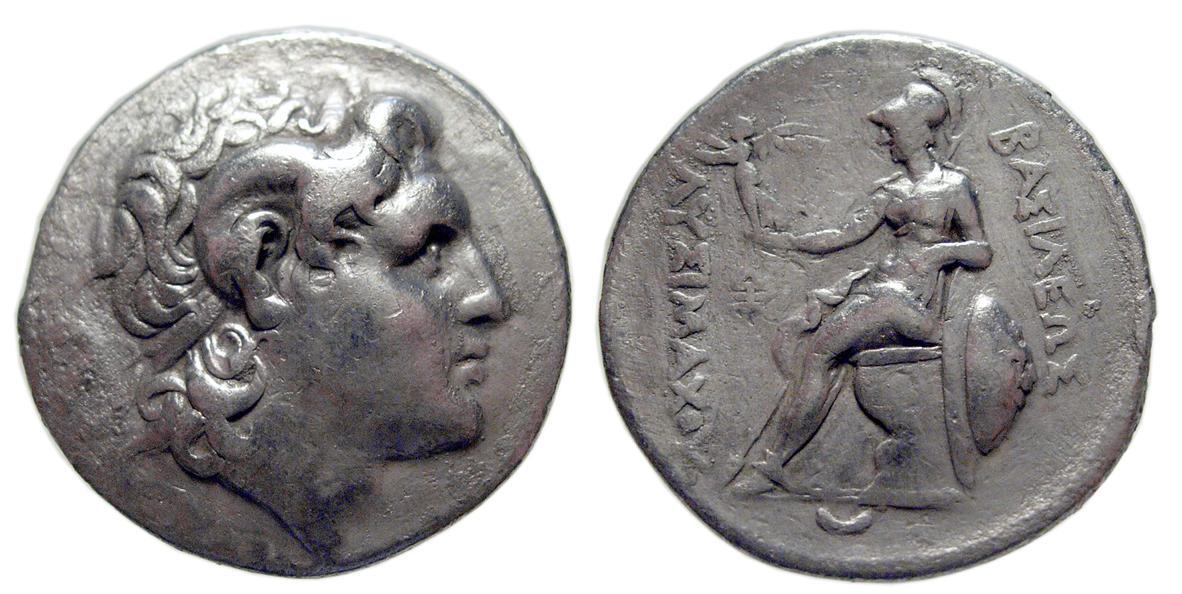 Kingdom Of Thrace Lysimachos Ar Tetradrachm Real