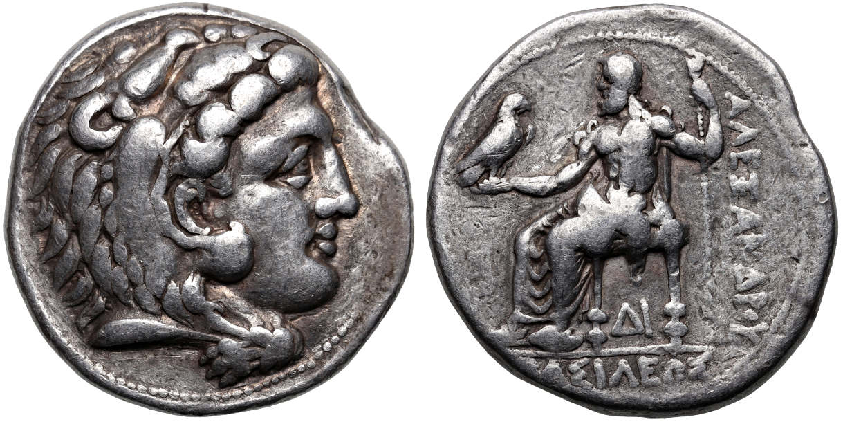 Greek tetradrachm