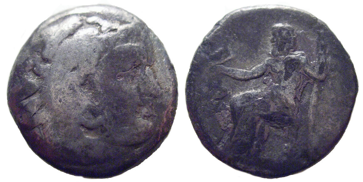 Alexander the Great, AR Drachm, 336-300BC