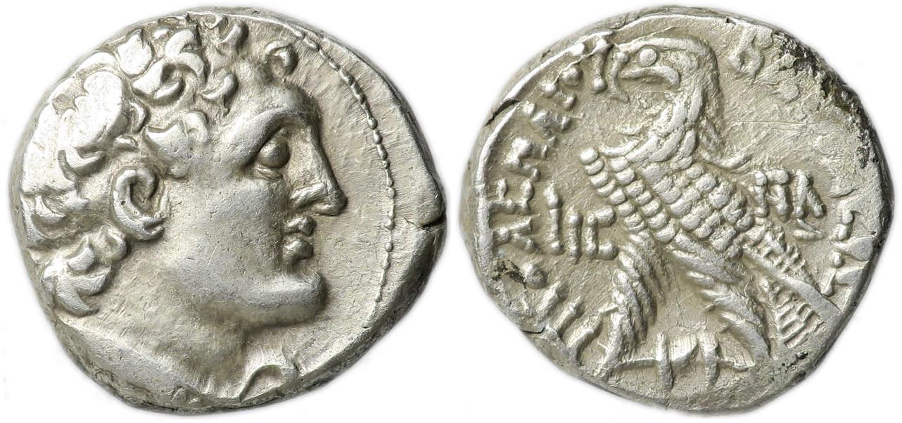 Ptolemaic Kingdom Of Egypt Ptolemy X Ar Tetradrachm 101