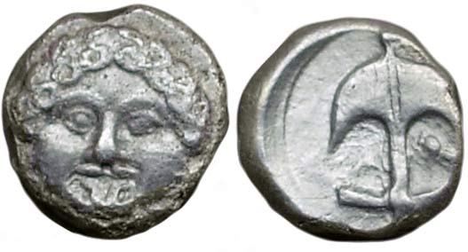 ᷅  <font color=&quot;#FF0000&quot;><b>SOLD</b></font color>: Apollonia Pontica AR drachm NOT LISTED