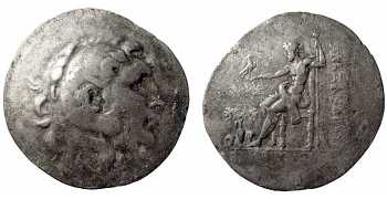 Alexander the Great, AR Tetradrachm, Temnos, 188-170 BC