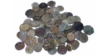 "᷅<font color=""#FF0000""><b>SOLD</b></font color>: Uncleaned Greek Coins Lots of 20"