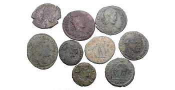"᷅<font color=""#FF0000""><b>SOLD</b></font color>: Ancient Roman Coins Lot 2"