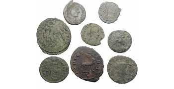 "᷅<font color=""#FF0000""><b>SOLD</b></font color>: Ancient Roman Coins Lot 3"