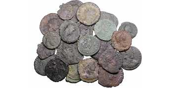 "᷅<font color=""#FF0000""><b>SOLD</b></font color>: Ancient Roman Coins Lot 4"