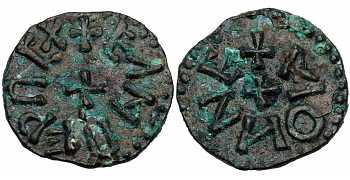 "᷅  <font color=""#FF0000""><b>SOLD</b></font color>: Anglo-Saxon, Kings of Northumbria, Eanred, 810-841 AD, AE Styca, struck c. 837-841 AD, Hoard Coin"