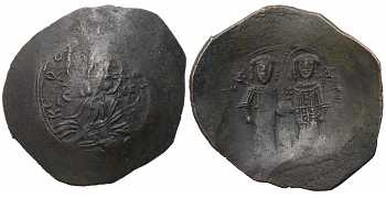 "᷅ <font color=""#FF0000""><b>SOLD</b></font color>: Alexius III angelus-Comnenus, AE Trachy, 1195-1203 AD"