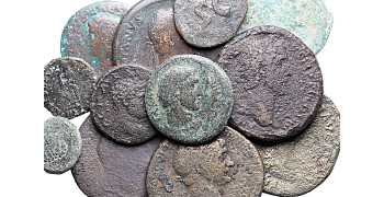 Dealer's Lot of 12 Roman Imperial Coins