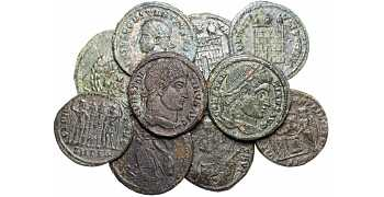 Dealer's Lot of 12 High Quality Ancient Roman Coins