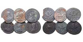 Dealer's Lot of 6 Antoninianii of Probus, 276-282 AD
