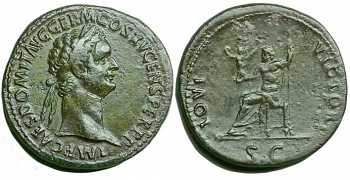 "᷅  <font color=""#FF0000""><b>SOLD</b></font color>: Domitian Sestertius"
