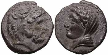 "᷅  <font color=""#FF0000""><b>SOLD</b></font color>:  Islands off Caria, Kos, AR Didrachm, Herakles, c. 345-340/30 BC, Pixodarus Hoard, Plate Coin"