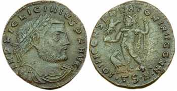 "᷅  <font color=""#FF0000""><b>SOLD</b></font color>: Licinius I Follis"