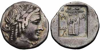 Lycian League, AR Hemidrachm, c. 30-27 BC