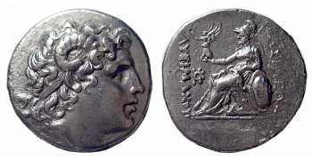 Kingdom of Thrace, Lysimachos AR Tetradrachm, Real Portrait of Alexander the Great, 297-281 BC