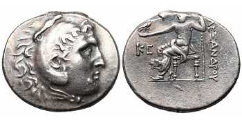 Kings of Macedon, Alexander III 'the Great', Posthumous Issue, of Pamphylia, Perge, struck c. 196/5 BC