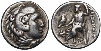 Kingdom of Macedon, Alexander III 'the Great', 336-323 BC, AR Drachm, Abydus mint, struck 328-323 BC, Lifetime issue