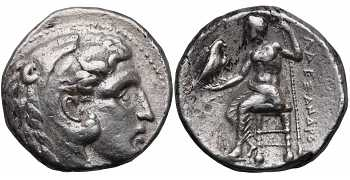 Kingdom of Macedon, Alexander III 'the Great', 336-323 BC, AR Tetradrachm, struck c. 320-306/5 BC