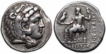 Kingdom of Macedon, Alexander III 'the Great', 336-323 BC, AR Tetradrachm, struck c. 325-320 BC