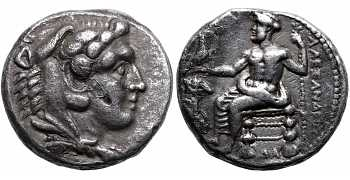 "Kingdom of Macedon, Alexander III 'the Great""', 336-323 BC, AR Tetradrachm, Lifetime issue"