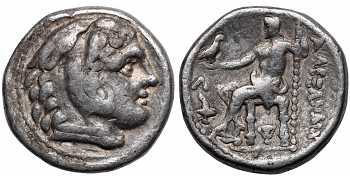 Kingdom of Macedon, Alexander III 'the Great', 336-323 BC, AR Tetradrachm, struck c. 307-297 BC