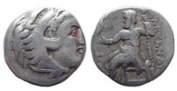 "᷅  <font color=""#FF0000""><b>SOLD</b></font color>: Alexander the Great, AR Drachm, 336-300BC"