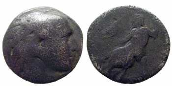 Alexander the Great, AR Drachm, Abydus, Lifetime Issue, 328-323 BC