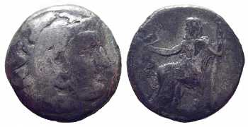 Alexander the Great, AR Drachm, Western Asia Minor, 323-280 BC