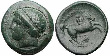 Kingdom of Macedon, Philip II, AE20, Eagle Control Mark, 359-336 BC, Apparently Unique and Unpublished