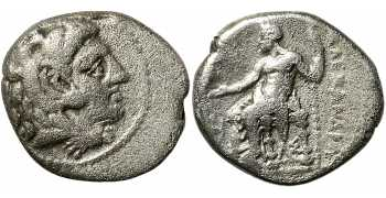 Macedon, Philip III Arrhidaeus, Half-Brother of Alexander the Great, AR Hemidrachm, Cilicia, 323-317 BC