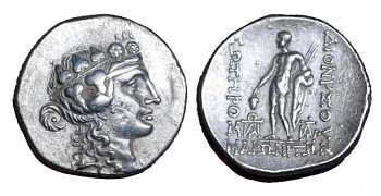 "᷅  <font color=""#FF0000""><b>SOLD</b></font color>: Silver Tetradrachm from Maroneia"