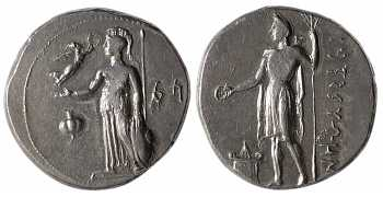 Pamphylia, Side, AR Stater, 4th century BC