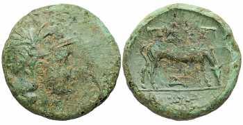 Coins: Ancient Macedon Pella Bronze Lyre Kithara Apollo Ae20 Nice Coin Greek (450 Bc-100 Ad)