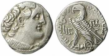 Ptolemaic Kingdom of Egypt, Ptolemy X, AR Tetradrachm, 101 BC