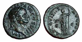 Vespasian Ae AS EF portrait