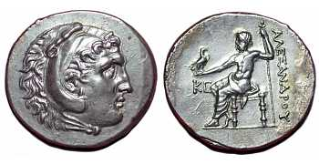 "᷅  <font color=""#FF0000""><b>SOLD</b></font color>: Alexander the Great Tetradrachm"