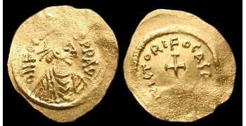 "᷅ <font color=""#FF0000""><b>SOLD</b></font color>: Gold Byzantine Coin"