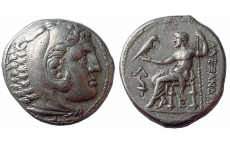 Alexander the Great, AR Tetradrachm, Amphipolis, 315-294 BC