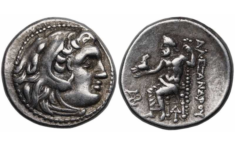 Kingdom of Macedon, Alexander III 'the Great', 336-323 BC, AR Drachm, Magnesia ad Maendrum mint, struck c. 319-305 BC